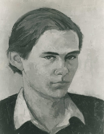 Edmund Wilkinson 1974oil on canvas 16 x 12 in (41 x 30cm)