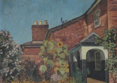 Granny Emdin's housec 1936oil on canvas 13 x 17 in (33 x 43cm)