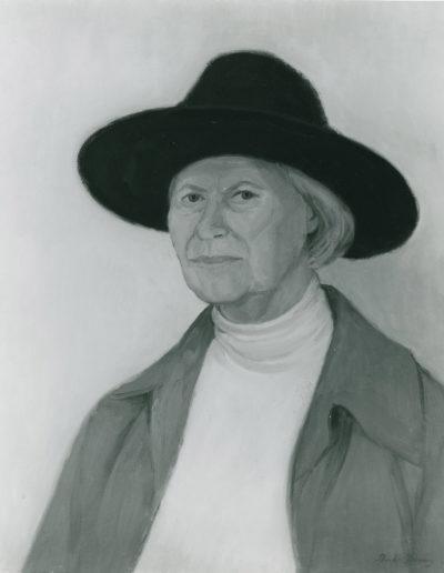 Karin Antonini1994oil on canvas22 x 18 in (56 x 46cm)