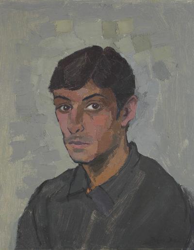 Martin Scott1967oil on canvas  22 x 18 in (56 x 46cm)