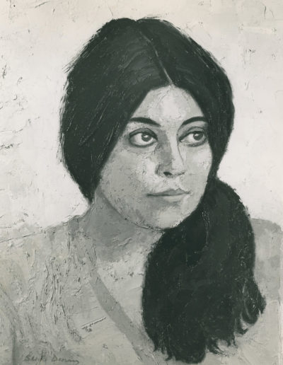 Penelope Dimond1973 oil on canvas  18 x 14 in (46 x 36cm)