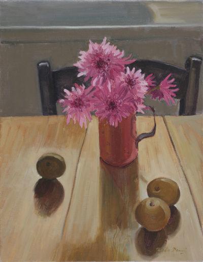 The copper mug1984oil on canvas18 x 14 in (46 x 35cm)