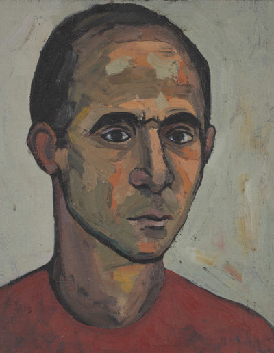 Young Man oil on board Date unknown14 x 10 in (35 x 25cm)