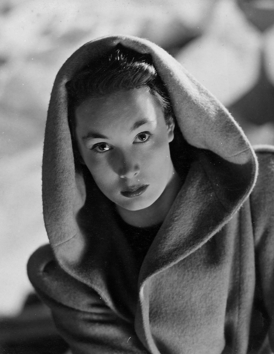 Photo of Sheila when she worked as a photographic fashion model in the late 1930s